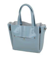 Сумка Женская Классическая кожа ALEX RAI 03-1 8650 light-blue