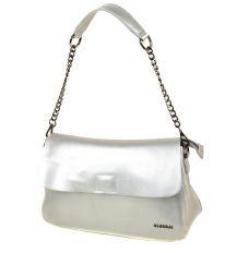 Сумка Женская Классическая кожа ALEX RAI 03-1 8605 silver-white