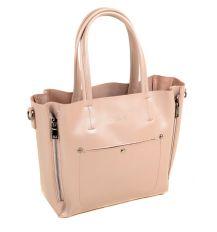 Сумка Женская Классическая кожа ALEX RAI 03-1 8650 light-pink