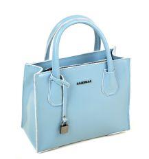 Сумка Женская Классическая кожа ALEX RAI 03-1 1527 light-blue