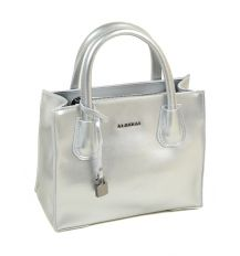 Сумка Женская Классическая кожа ALEX RAI 03-1 1527 silver-white