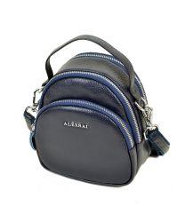 Сумка Женская Клатч кожа ALEX RAI 03-1 3905 blue