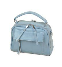 Сумка Женская Классическая кожа ALEX RAI 03-4 8539 light-blue
