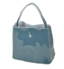 Сумка Женская Классическая кожа-лак ALEX RAI 03-3 L8641 l-blue