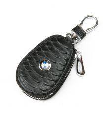 Автоключница кожа F625 BMW black