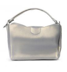 Сумка Женская Классическая кожа ALEX RAI 06-1 1383 pearl light-grey