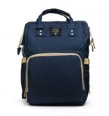 Сумка Женская Рюкзак нейлон Lanpad 5605 blue