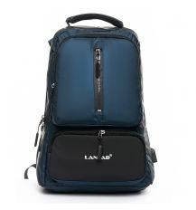 Рюкзак Городской нейлон Lanpad 2218 blue