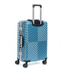 Дорожная Чемодан 1 Маленький ABS-пластик 07 blue замок