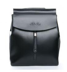 Сумка Женская Рюкзак кожа ALEX RAI 08-2 3206 black