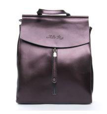 Сумка Женская Рюкзак кожа ALEX RAI 08-2 3206 bright-brown