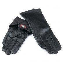 Перчатка Женская кожа F24/19-1 мод9 black флис