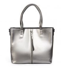 Сумка Женская Классическая кожа ALEX RAI 08-4 8704 grey
