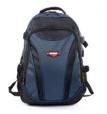 Рюкзак Городской нейлон Power In Eavas 9688 black-blue