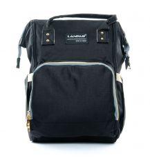 Сумка Женская Рюкзак нейлон Lanpad D900 black