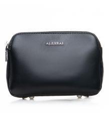 Сумка Женская Клатч кожа ALEX RAI 2-01 8701 black