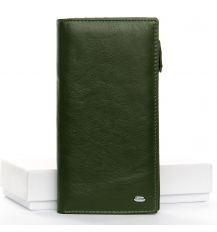 Кошелек Classic кожа DR. BOND WMB-3M dark-green