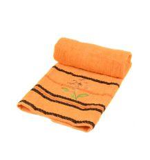 Полотенце Лицевое махра 2910-1 orange