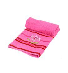 Полотенце Лицевое махра 2910-1 pink