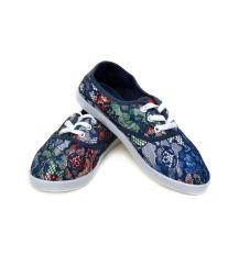Кеды 922 Flower-blue Распродажа
